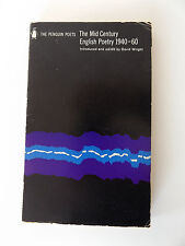 1968  THE MID CENTURY ENGLISH POETRY 1940-60 Penguin Books PAPERBACK