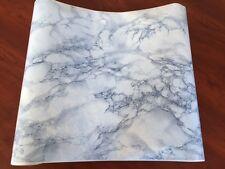 DC200-2836 Vario Blue Marble Self Adhesive Foil Bathroom/Kitchen 45cm x 15m