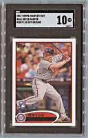 2012 Topps *BRYCE HARPER* Rookie Card (RC) SGC 10 Gem Mint ~Comp. to PSA~