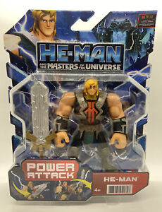 HE-MAN AND THE MASTERS OF THE UNIVERSE HE MAN POWER ATTACK FIGURE NETFLIX 2021