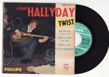 EP  JOHNNY HALLYDAY-wap dou wap-Philips-FRENCH