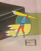 DC The atom Filmation Animation Cel