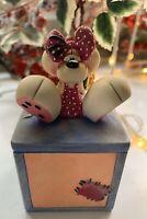 *Depesche Vintage Diddl Diddlina Ceramic Trinket Box* COLLECTABLE Gift
