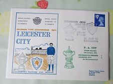LEICESTER City v Wolves Division 2 Champions 1971 FOOTBALL First Day Cover