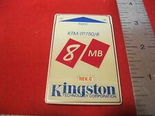 Kingston KTM-TP750/8 8MB MEMORY CARD