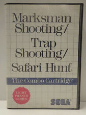 Master System-Marksman Shooting/trap Shooting/Safari Hunt (OVP) 10634417