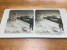 Vintage Stereoscopic Slide Hohe Tauren