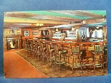 Postcard NJ West Orange Cocktail Corner Lounge at Rod's 1920's Road House