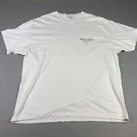 Vintage Waikiki Beach Hawaii USA T Shirt 2000 Y2k Size XL Men's White