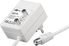 Zweigeräte Verteilverstärker 1 x Eingang, 2 x Ausgang  2 x 15 dB Verstärkung