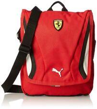 Puma Ferrari Portable Unisex Shoulder Bag Red