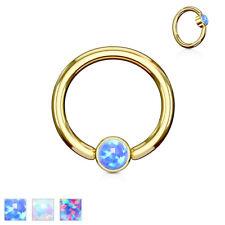 CBR Ring Gold Opal