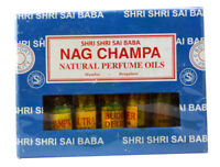 A Set of 6pcs Natural Perfume Oils Body Musk Natural Mini Bottles 3ml each