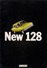 Fiat 128 1976-77 UK Market Sales Brochure 1100 1300 C CL Saloon Estate