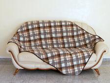 Plaid, couverture, Couvre-lit, laine 140x100. fabriqué en Allemagne