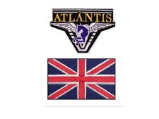 Stargate Atlantis 2 ecussons  Equipe Angleterre Atlantis team England patches