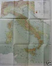 BELLA GRANDE CARTOGRAFIA_ITALIA ALTIMETRICA-BATOMETRICA