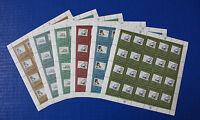 United Nations - 1997 Tribute to Philately MNH sheet set