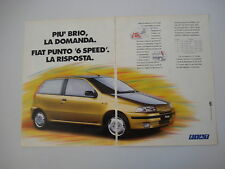 advertising Pubblicità 1994 FIAT PUNTO 55 6 SPEED