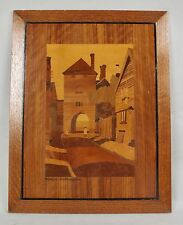 very decorative original marquetry panels of: westgate Southampton