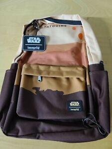 Loungefly Star Wars Tatooine Nylon Backpack