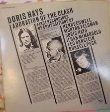 "12"" VERY RARE DOUBLE LP ADORATION OF THE CLASH BY DORIS HAYS (1979) FINNADAR SR"