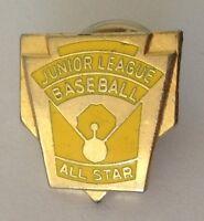 Junior League Baseball All Star Pin Badge Quality Rare Vintage (N3)