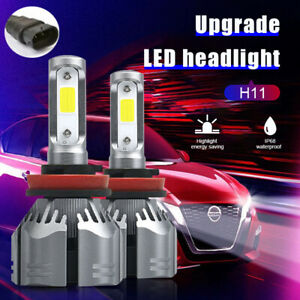 H11 LED Headlight Globes White Low Beam 6500K for Toyota Corolla Kluger 11-17 AU