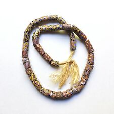 Antique Venetian Glass African Trade Beads, Various Sizes Millefiori Murrine