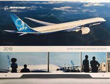 New ListingNew 2019 Boeing Commercial Airplane Wall Calendar Aviation Gift, Memorabilia