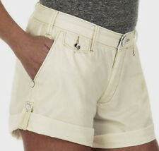 ROGAN  WOMEN'S  CASUAL SHORT color IVORY 100% ORGANIC COTTON  sz 11  NWT