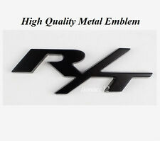 Alloy Metal Black RT R/T Logo Dodge Challenger Charger Emblem Badge 3D Sticker