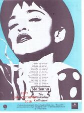 """1991 Madonna """"The Immaculate Collection"""" Album Vintage  Print Advertisement"""