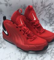 Nike Air Max Wavy Mens Size 12 Red Hightop Basketball Sneakers