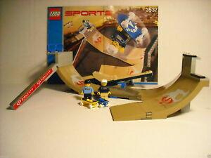 "LEGO SPORTS ~ Gravity Games ~ SET 3537-1 ~ ""SKATEBOARD VERT PARK CHALLENGE"""