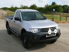 2012 MITSUBISHI L200 4X4 PICK UP 2.5 DID DIESEL SINGLE CAB ONE OWNER  FSH