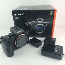 Sony Alpha A7 III 24MP Digital Camera - Black (Body Only), Shutters: 227, MINT