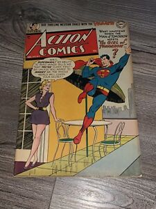 Action Comics 163 DC 1951 Superman 1 Owner Providence Collection RARE FN+ 6.5