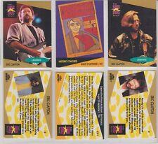 Eric Clapton & Concert Poster Superstar Cards