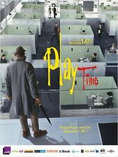 Affiche 120x160cm PLAYTIME 1967 Jacques Tati, Billy Kearns, Dennek R2014 NEUVE