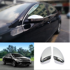 For VW Volkswagen Passat 2016 - 2020 Chrome ABS Side Rearview Mirror Cover Trim