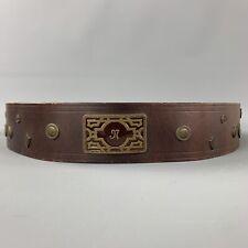 Vintage MATSUDA Monsieur Nicole Brown Leather Belt