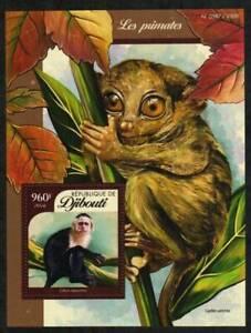 Djibouti Stamp - Primates Stamp - NH