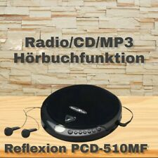 Reflexion PCD 510MF Tragbarer CD-/MP3 Player / UKW-Radio / Hörbuchfunktion OVP