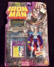 "Toy Biz Iron Man Action Figure ""Century"" 1995 MIP"