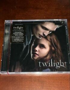 NEW SEALED Twilight Soundtrack CD w/ Fold Out Poster Paramore Rob Pattinson Muse