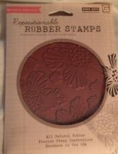 Hero Arts/Basic Grey Repositionable  Rubber Stamp Luscious Floral Background