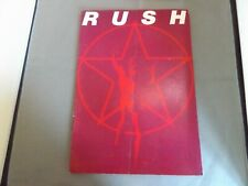 More details for rush uk tour programme brochure 1977 - 2112