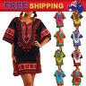 Jungo Shirt Dashiki Mexican African Tribal Beach Kaftan Free Size Women
