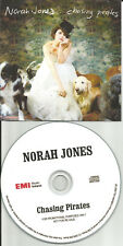 NORAH JONES Chasing Pirates IRELAND TST PRESS PROMO DJ CD single USA seller 2009